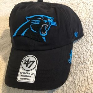Women's '47 Clean Up Cap Hat Carolina Panthers NEW